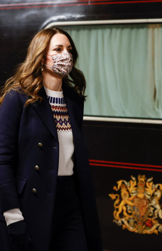 Kate Middleton Loves these Holiday Ready Nordic Sweaters