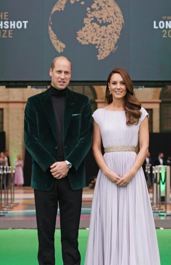 Kate Middleton in Pale Purple Repeat McQueen for Earthshot Prize Awards