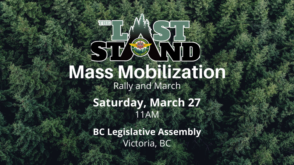 Rally for Ancient Forests