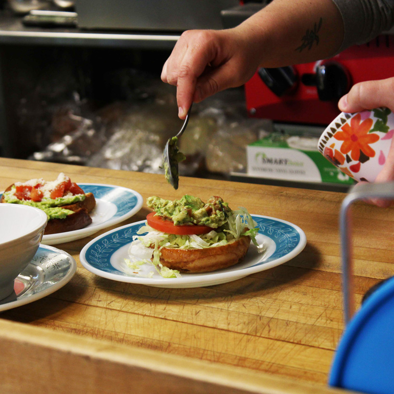 Gering cafe using only the finest local ingredients