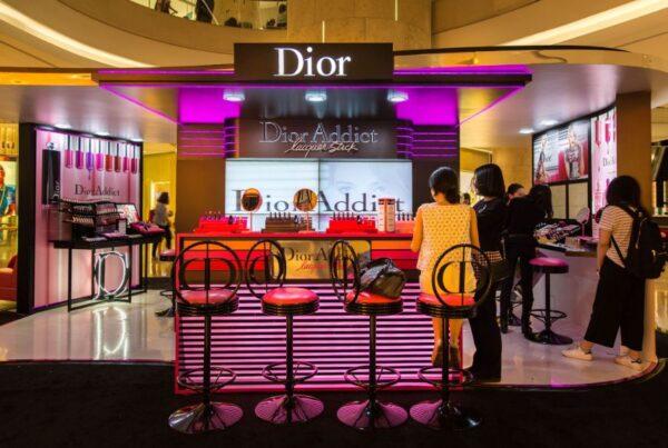 Dior Addict Stellar Shine Brand Activation