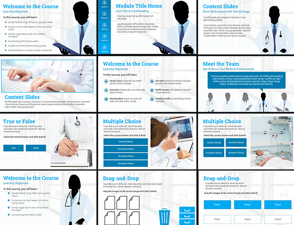 Course Starter: Medical E-Learning Template