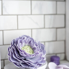 Amethyst Lavender Macaron Sugar Scrub (Set of 6)