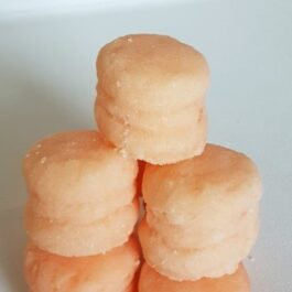 Peach of My Heart Macaron Sugar Scrub (Set of 6)