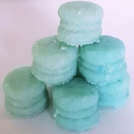 Sweet Ocean Breeze Macaron Sugar Scrub (Set of 6)