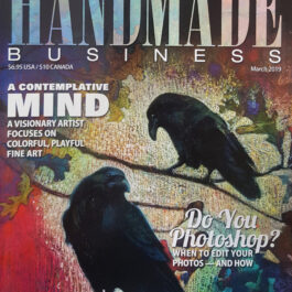 Handmade Magazine - A'Marie's Bath Floweser