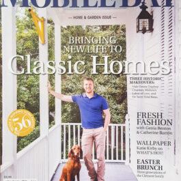 Mobile Bay magazine - A'Maries Bath Flowers