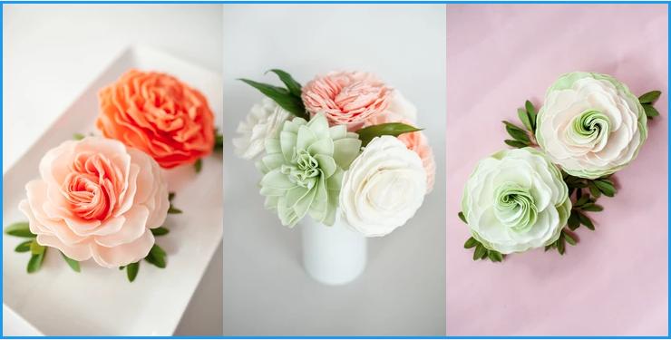 De Juliette & Tangerine Tango Vase Display Idea Summer Swirl & Cucumber Melon
