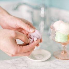 Vanilla Cashmere Macaron Sugar Scrub (Set of 6)