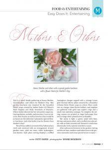 Petite Flowers Garden Party - Mississippi Magazine