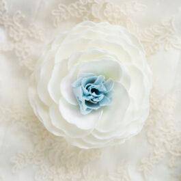 Something Blue Bathing Petal Soap Flower