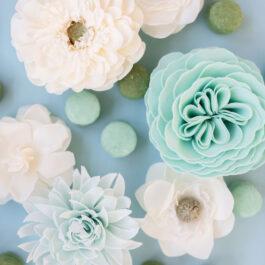 Mississippi Queen Magnolia Petite Soap Flower