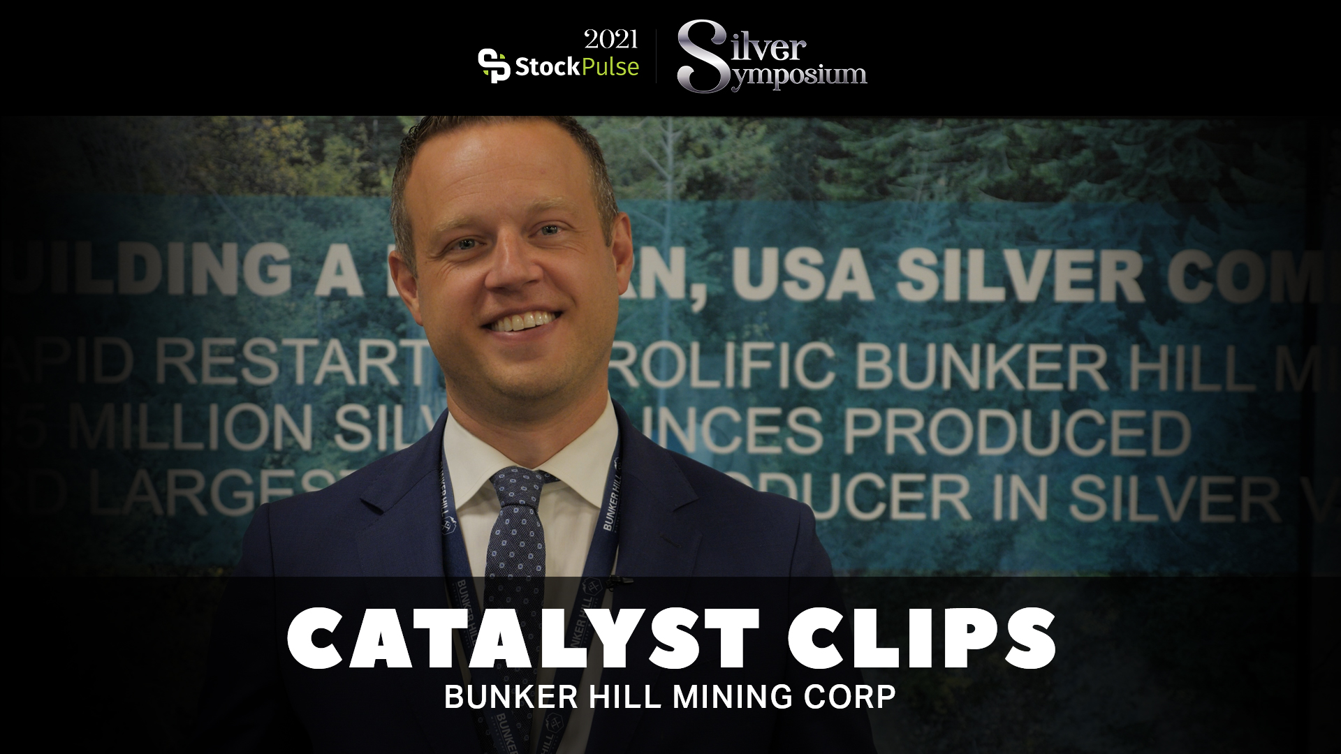 2021 StockPulse Silver Symposium Catalyst Clips | David Wiens of Bunker Hill Mining Corp