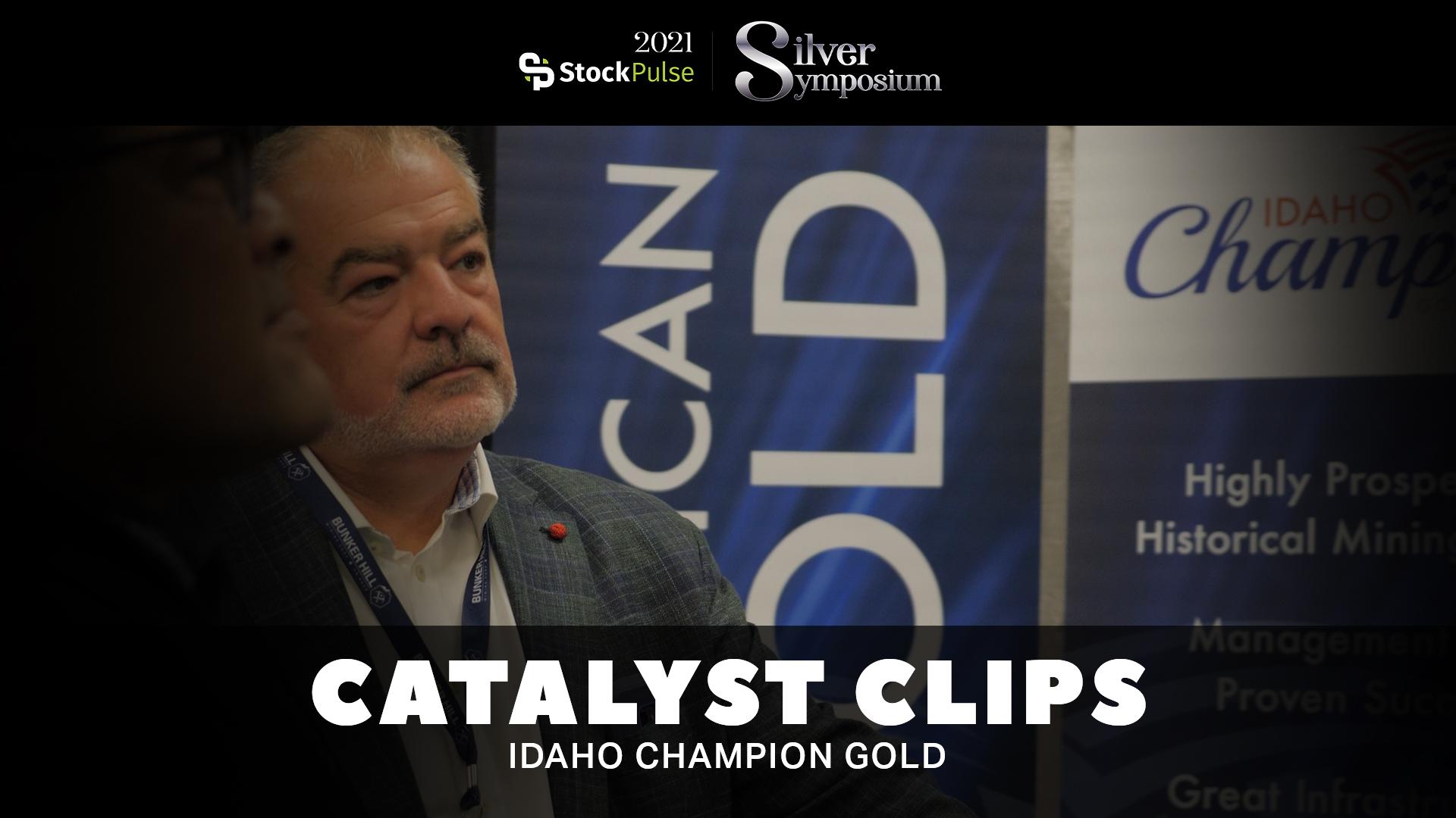 2021 StockPulse Silver Symposium Catalyst Clips | Jonathan Buick of Idaho Champion Gold