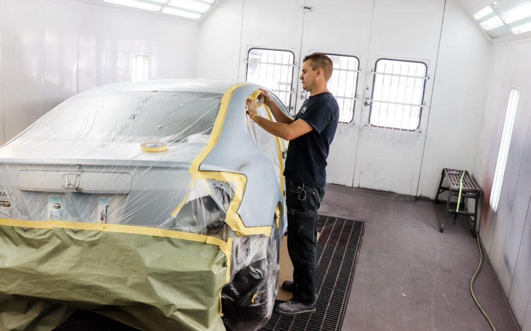 Auto Paint Repair Shop