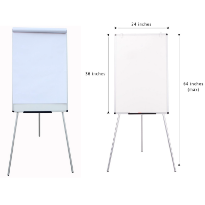 """24""""x36"""" Flip Chart or Whiteboard with Easel"""
