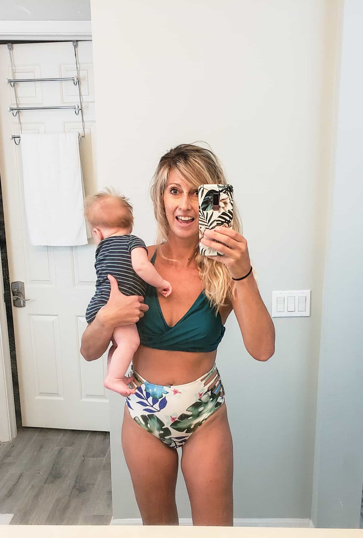 lost the baby weight by 6 weeks postpartum