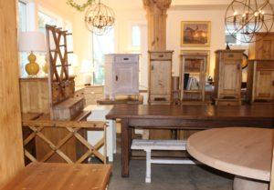 Antique Pine Nightstands