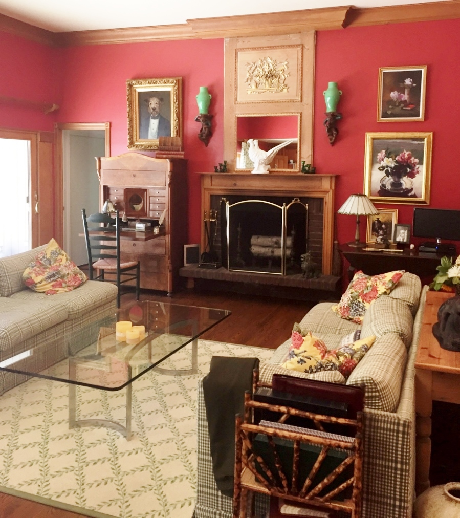 Red Great Room