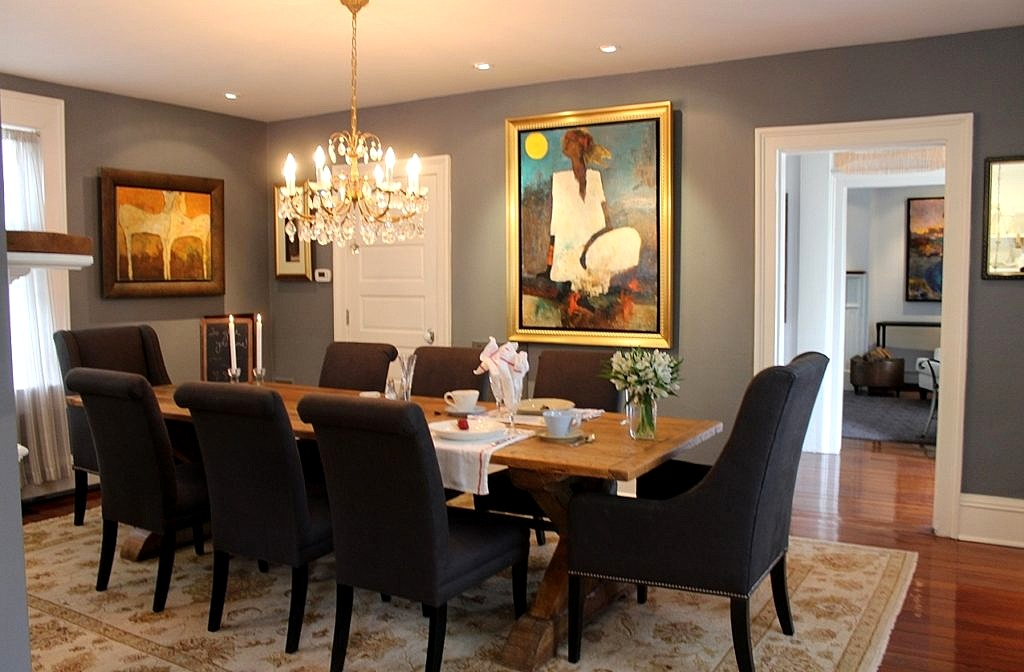 Dining Room Table from British Cottage