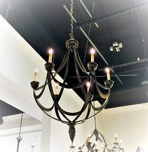Currey and Cmpany Chandelier