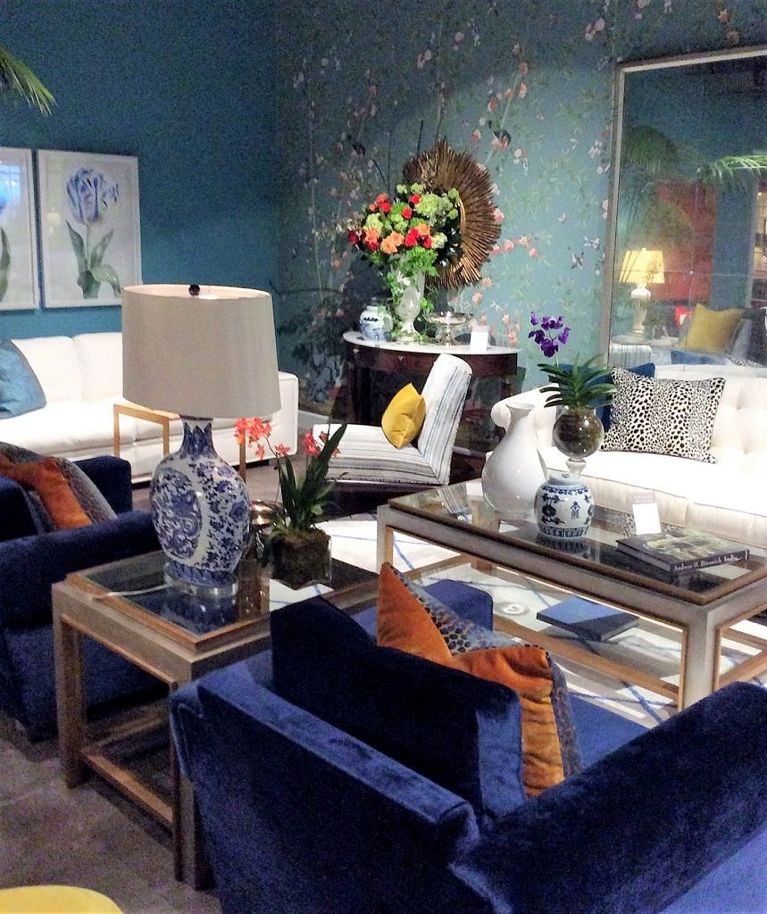 Lillian August for Hickory White at the Spring High Point Furniture Market 2017