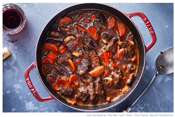 Dijon and Cognac Beef Stew, NY Times One Pot Meals