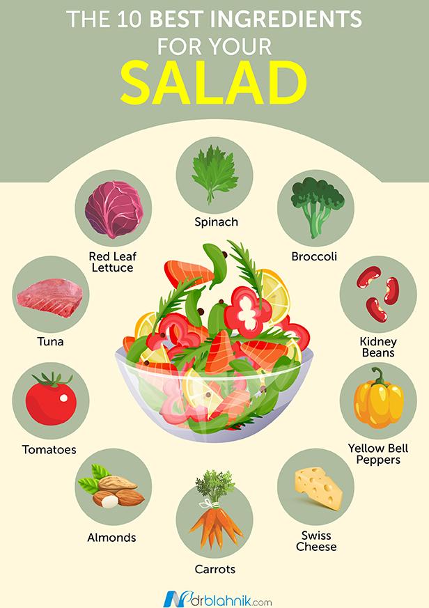 Best Ingredients Salad