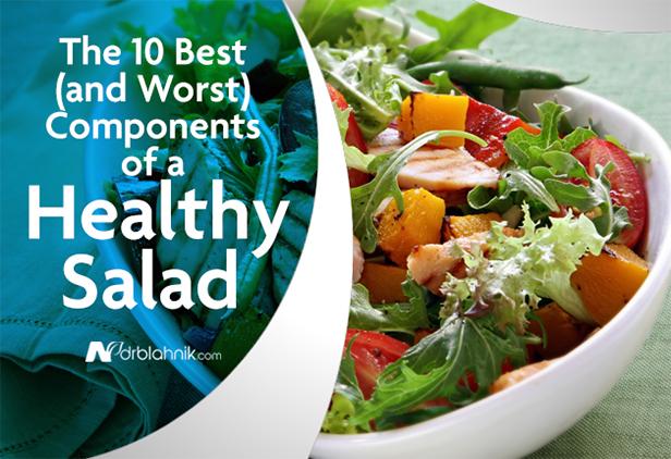 Components Healthy Salad