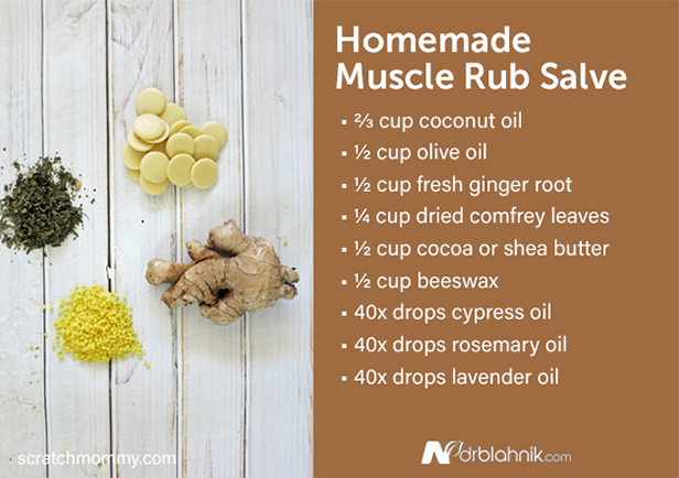 Homemade Muscle Rub