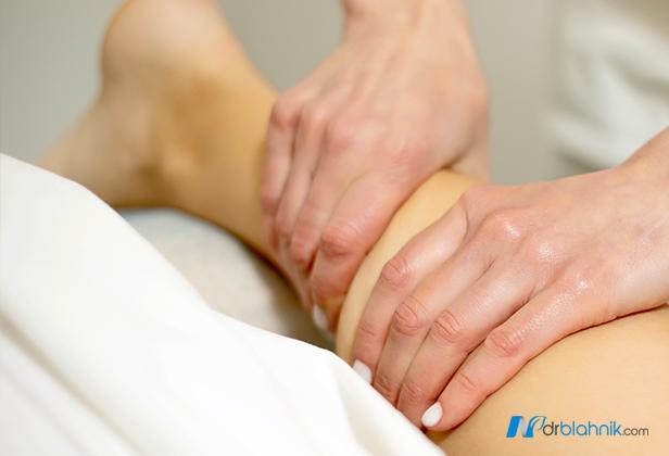 Massaging a Leg