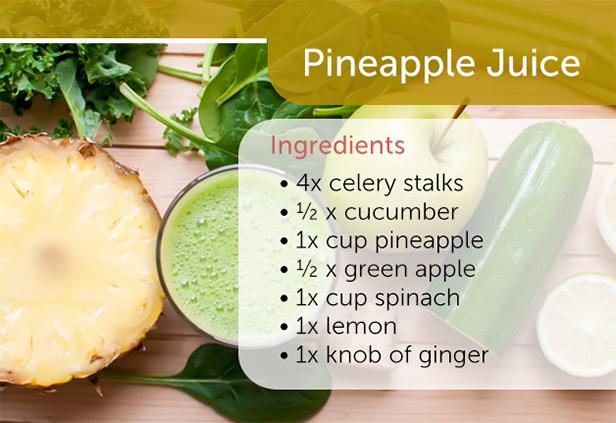 Pineapple Antiinflammation Juice