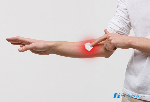 Pointing Muscle Pain