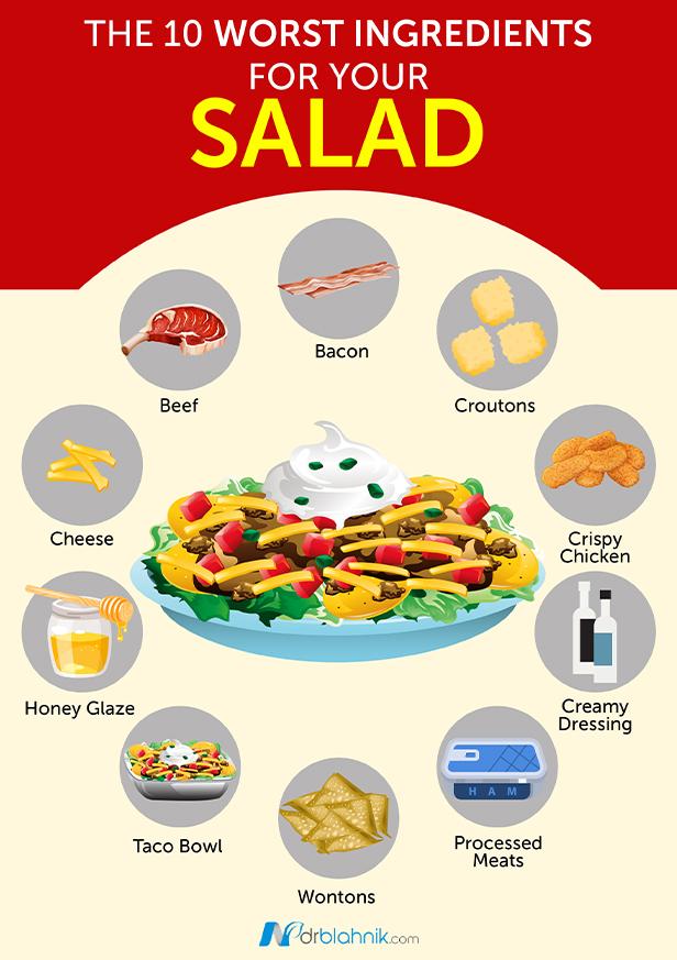 Worst Ingredients Salad