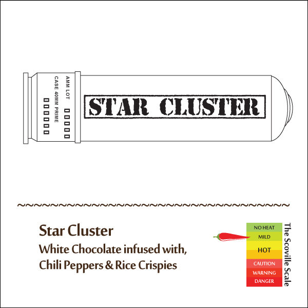 Star Cluster Chocolate Bar