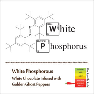 White Phosphorus Chocolate Bar