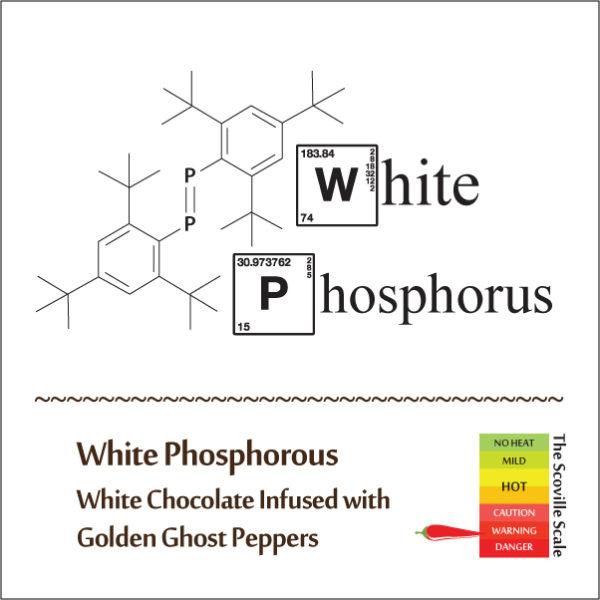White Phosphorus Chocolate Bar