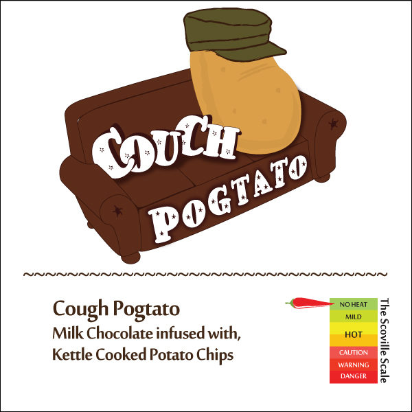 Cough Pogtato Chocolate Bar