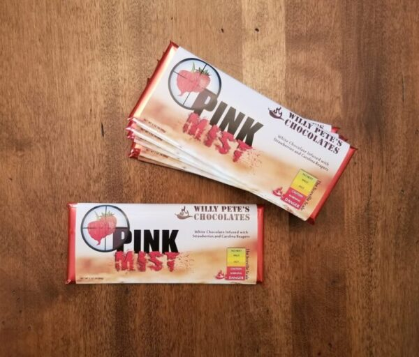 Pink Mist Chocolate Bar