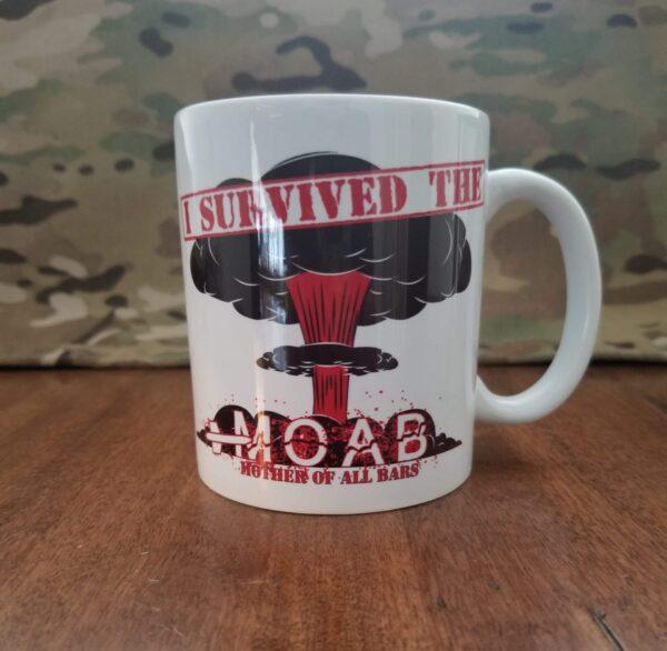 I survived the MOAB coffee mug