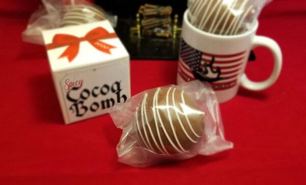Spicy Cocoa Bomb