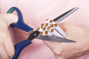 cutting cigarettes