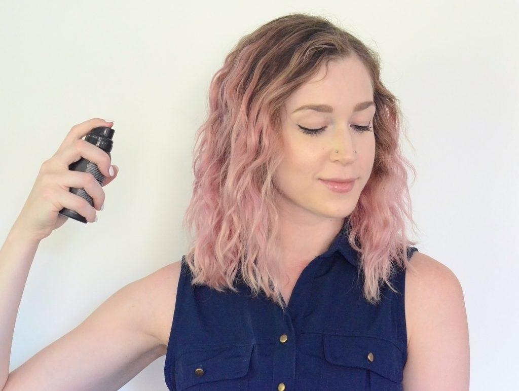 bebop navy blue romper, living proof flex shaping hairspray