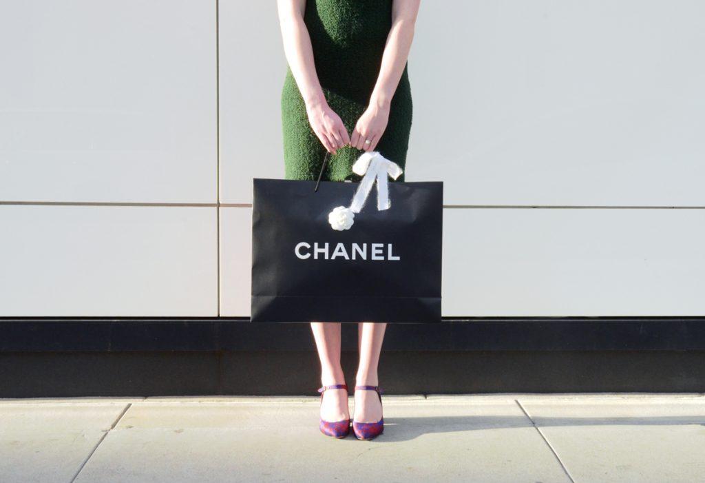Chanel Classic Flap packaging, via spiga deanna