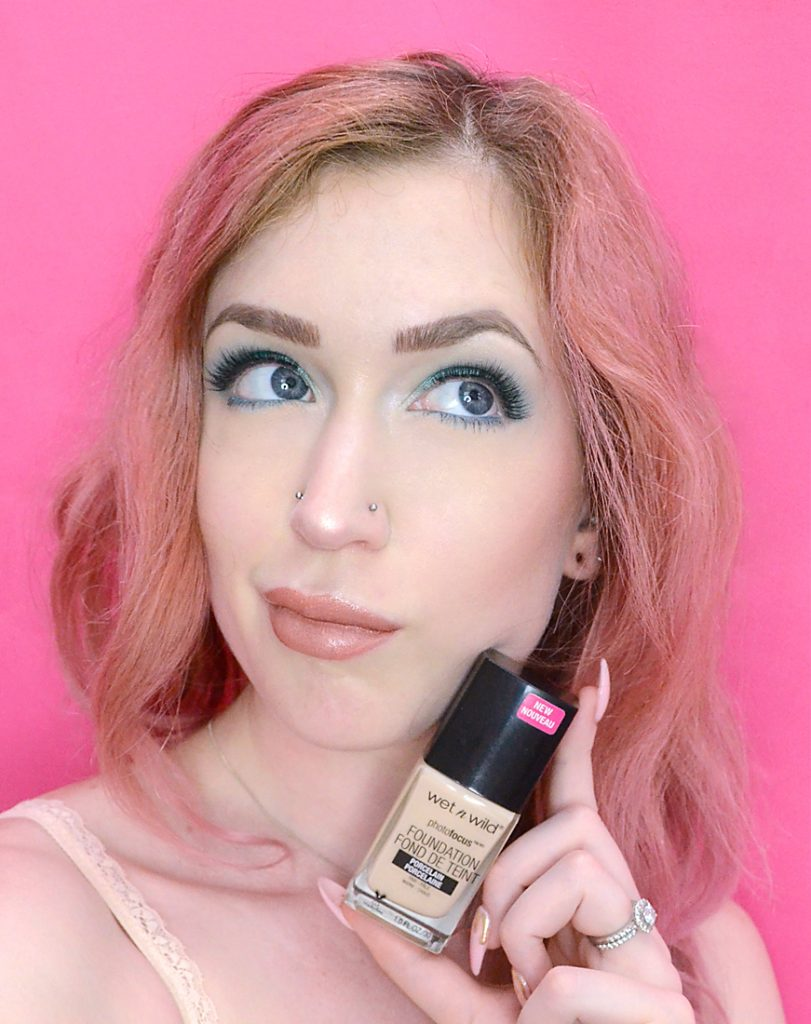 Los Angeles Cruelty-Free Beauty Blogger, Emily Wolf Beauty shares a review of the Wet N Wild Photo Focus Foundation for fair skin.
