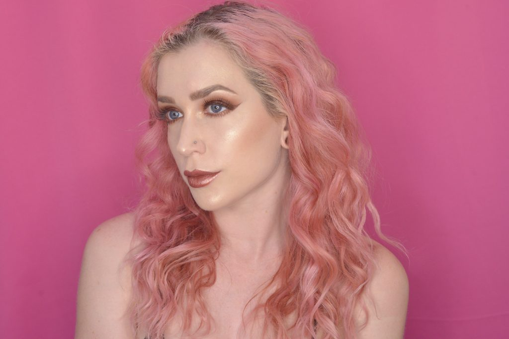Los Angeles Cruelty-Free Beauty Blogger, Emily Wolf Beauty shares a review of the NYX Liquid Suede Metallic Matte Lipsticks with full swatches of each shade.