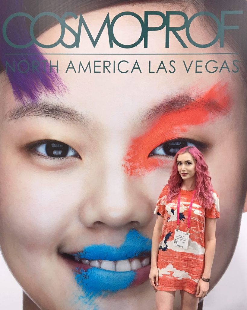 cosmoprof North America 2017 Cosmoprof and a Stay at the Palazzo Hotel with Los Angeles Cruelty-Free Beauty Blogger, Emily Wolf Beauty.