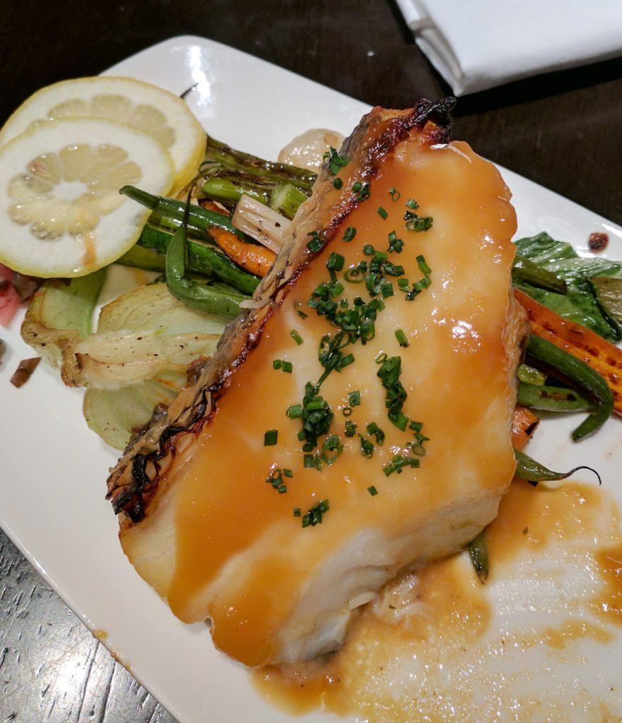 chilean sea bass at sushi samba