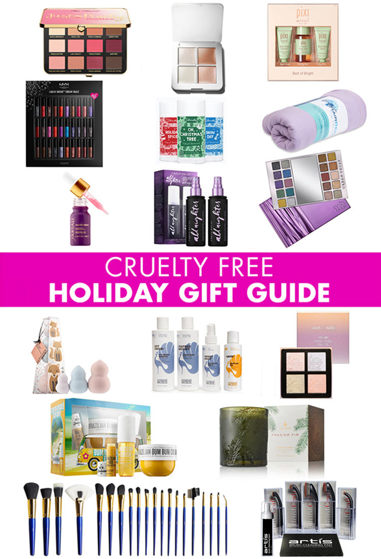 cruelty free beauty and makeup holiday gift guide