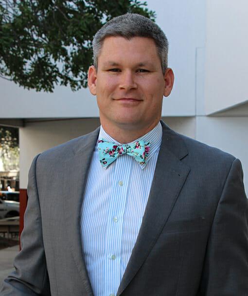 Personal Injury Attorney John McKnight Headshot Smiling